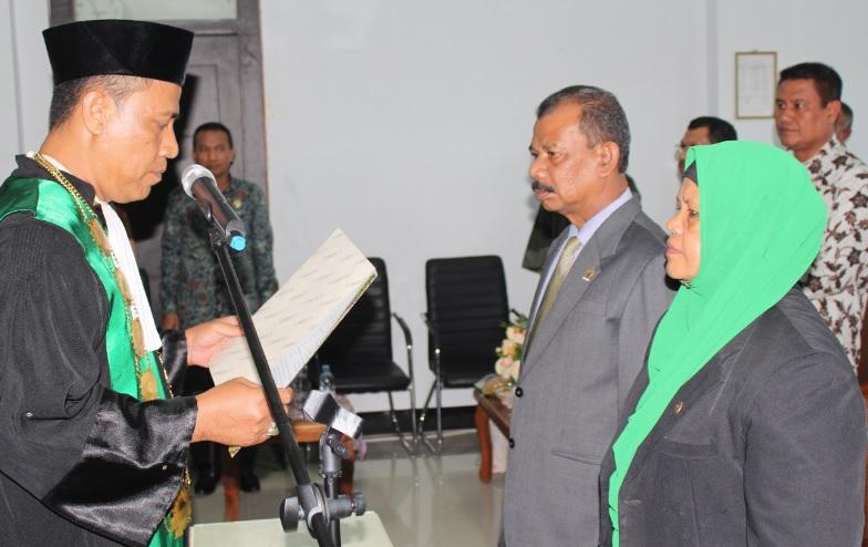 Dua Pejabat Baru Kepaniteraan MS Idi Resmi Dilantik   (19/8)